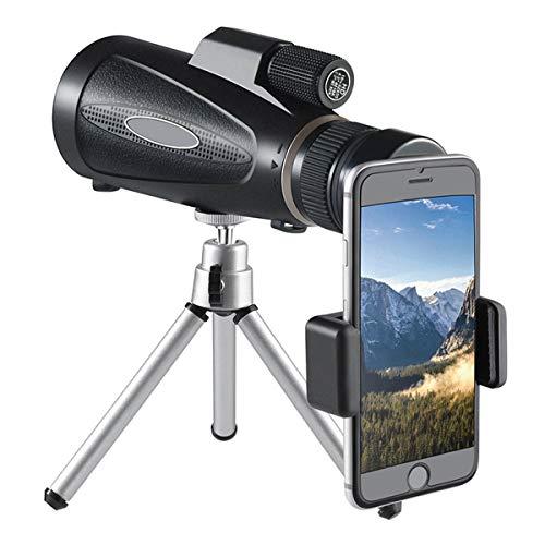 Gpure Telescopio Terrestre BAK4 Aumento de 10-32x Profesionales 50mm FMC Catalejo con...