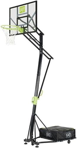 el mas reciente Canasta de baloncesto portátil Exit 46.05.10.00, ajustable, ajustable, ajustable, con kit de montaje.  lo último