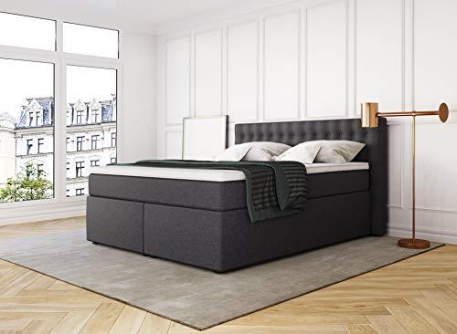 Boxspringbett mit Bettkasten King Luxus 7-Zonen Bild 4*