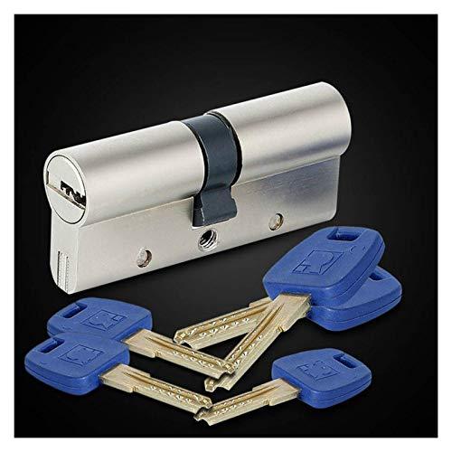 SONGYG Bombin Cerradura Núcleo de la Puerta de Seguridad de la Puerta de Seguridad del Cilindro del Cilindro del Cilindro de la Cerradura del Cilindro Universal 60-95mm 30 / 30mm-30 / 65mm