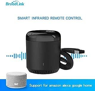 Broadlink RM Mini 3 Universal WiFi 4G IR Remote Controller Via APP Control Smart Home Compatible with Alexa Echo Google Home (RM mini3)