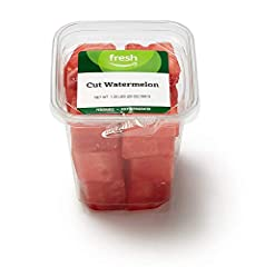 20-ounce container of cut watermelon Ready to eat No preservatives Great for on-the-go snacking Our Fresh brand products are all about high-quality food that fits every budget, every day.
