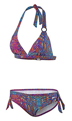 Beco Beermann Damen Bikini, B-Cup Summer of Love Bikinioberteil, Bordeaux, 40