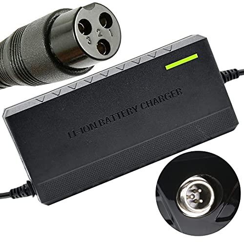 joyvio Cargador de batería de 24 V, 1,5 A y 36 W, estándar de 3 Clavijas en línea para Razor E100 E200 E300 E125 E150 E500 E175 PR200, E225S E325S MX350, Pocket Mod, Sports Mod y Dirt Quad