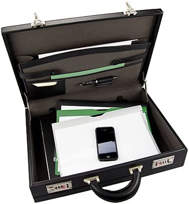 Masters Expandable Attache Same day shipping Case Internal Leather Miami Mall Organiser Look