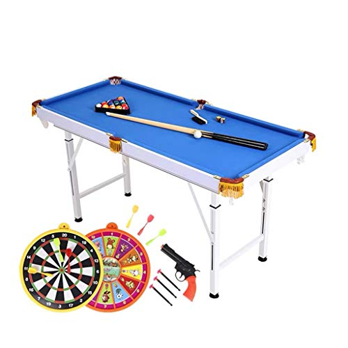YGO Folding Billiards Table Pool Table Space Saving for Kids and Adults...