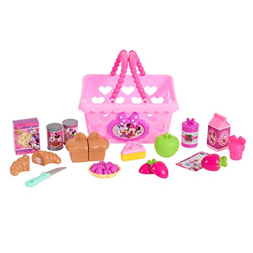 Minnie Just Play Bow Tique Bowtastic Shopping Basket Set