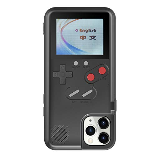 Handheld Game Console Case for iPhone 8, 36 Retro Games Playable Phone Case, Cool 3D Case for iPhone 6/6S/7/8