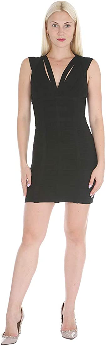 bebe Women's Sleeveless Sexy Bandage Bodycon Sheath Dress with Open Back