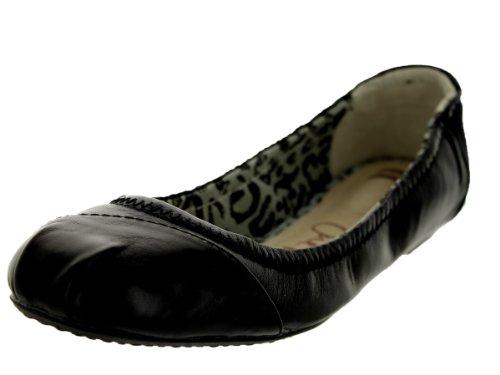 Toms - Womens Black Camila Ballet Flat Shoes