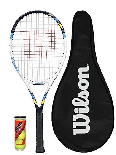 Wilson Envy Comp - Raqueta de tenis + funda + pelotas