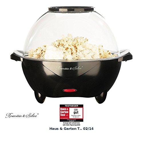 Rosenstein & Söhne Popkorn Maschinen: Profi-Popcorn-Maschine