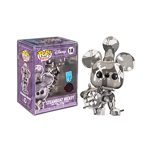 Pop Disney 18 Mickey Mouse Steamboat Willie Grey Artist Series