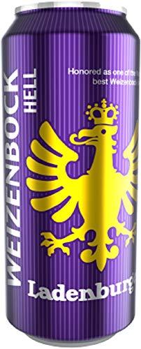 Deutsche Bierspezialitäten in der Dose (24 x 0,5l Ladenburger Weizenbock)