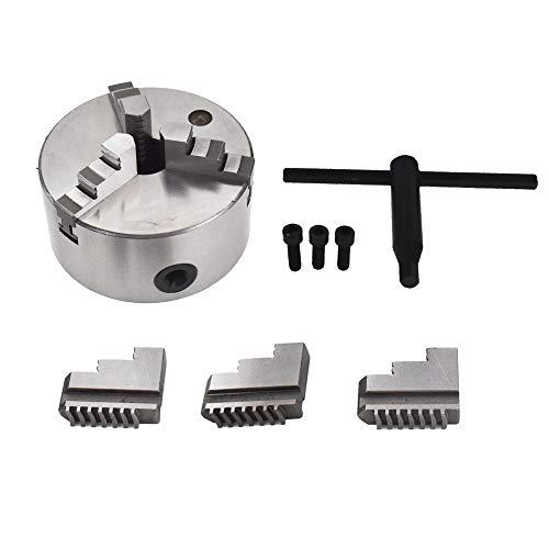 New 5'' Lathe Chuck K11-130 130mm 3 Jaw Self Centering Cast Iron CNC Machine