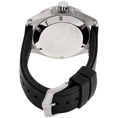 Aquagraph 1000m Montre Homme Analogique Quartz avec Bracelet Caoutchouc 72234