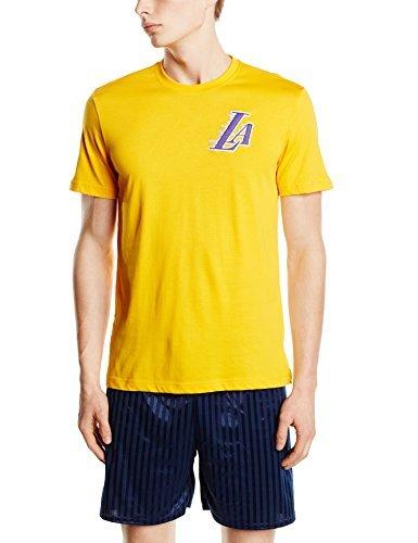 adidas Fan Wear Tee Maglietta, Uomo, T-Shirt LA Lakers Fanwear, NBA-Lal, XXL