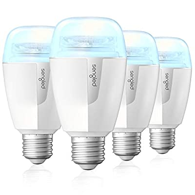 Sengled Smart Light Bulb, LED Light Bulbs with Tunable White 2700K-6500K, Works with Alexa & Google Assistant, Smart Hub Required, Soft White Daylight Smart Bulb 60W Equivalent 800LM, A19 E26, 4 Pack