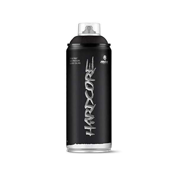 Pintura en spray MTN HC2 Negro Satinado 400ml