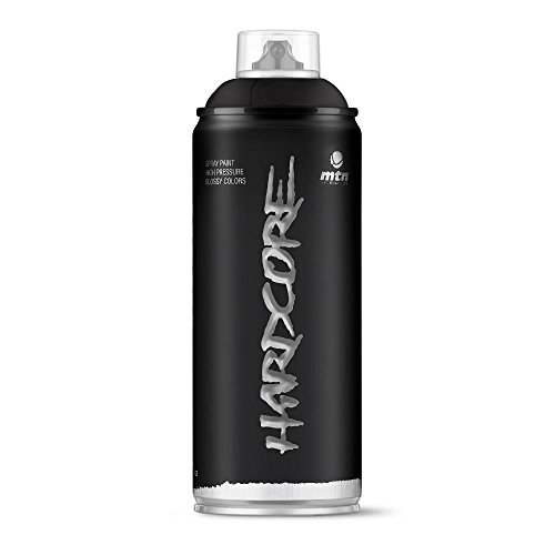 Pintura en spray MTN HC2 Negro Satinado 400ml