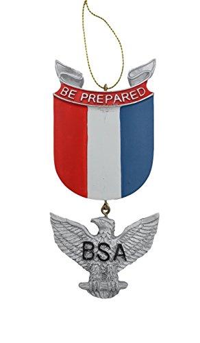 Kurt Adler Boy Scouts of America Eagle Scout Medal Christmas Ornament