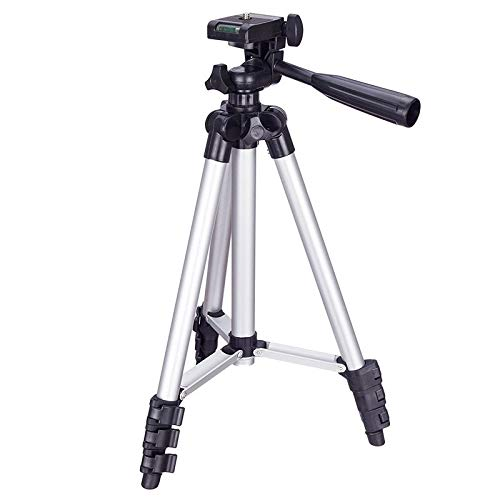 WEIHONG Digital 3120 Live Broadcast Tripod 4-Section Folding Legs Aluminum Alloy Tripod Mount with U-Shape Three-Dimensional Tripod Head for DSLR & Digital Camera, Adjustable Height: 34-103cm WEIHONG
