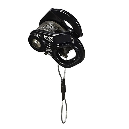 Wild Country Ropeman 2 Steigklemme, Black