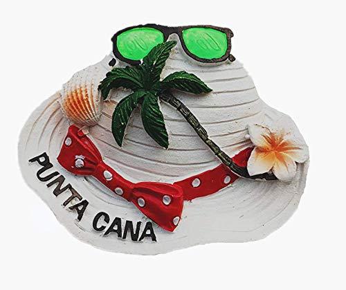 Dominican Punta Cana 3D Fridge Magnet Souvenir Gift, Home & Kitchen Decoration Magnetic Sticker, Dominican Punta Cana Refrigerator Magnet Collection