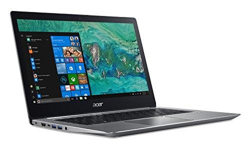 """Acer Swift 3, 8th Gen Intel Core i5-8250U, NVIDIA GeForce MX150, 14"""" Full HD, 8GB LPDDR3, 256GB SSD, SF314-52G-55WQ"""