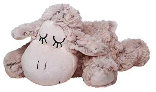 Inware 6359 - Kuscheltier Schäfchen Sleepy, beige/meliert, 40 cm