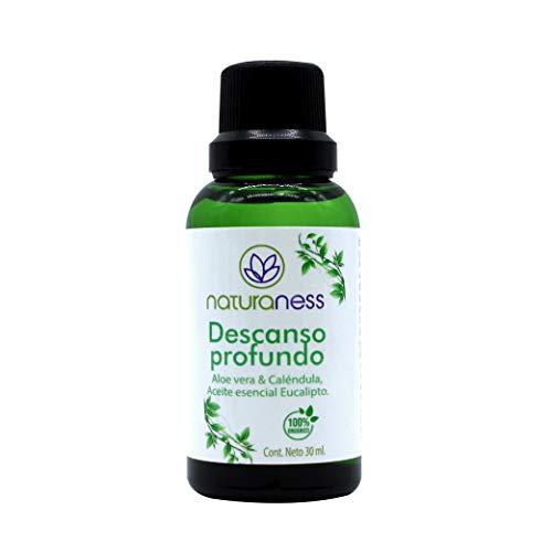Naturaness Aceite para masaje para descanso muscular, a base de extractos herbales y Aceites esenciales 100% naturales
