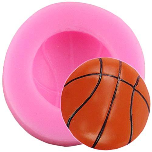 JLZK 3D fútbol béisbol Baloncesto moldes de Silicona DIY Fondant Herramientas de decoración de Pasteles Resina Arcilla Caramelo Molde de Chocolate