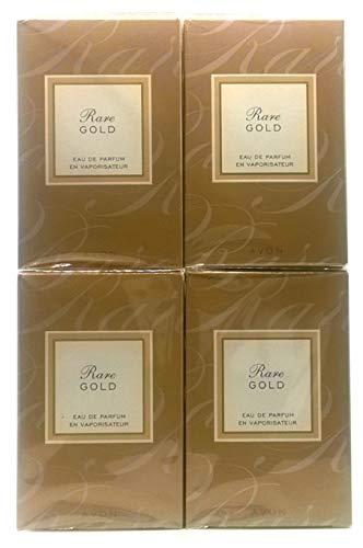 4 x Avon Rare Gold Eau de Parfum Para Mujer 50ml (4 unidades)