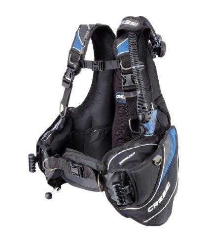 Cressi Sub Mens Travelight Ultra Light Scuba Diving Travel BCD, LG