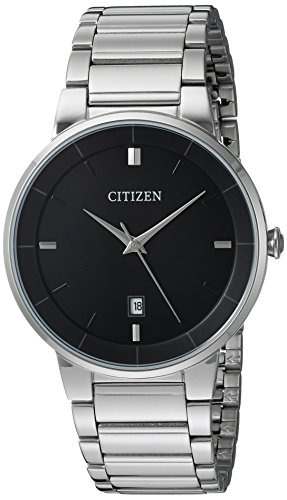 Citizen Men's Quartz Stainless Steel Watch, BI5010-59E