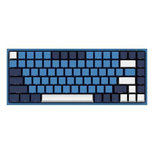 Akko 3087 Mechanische Tastatur, Gaming-Tastatur, Cherry MX Switch, PBT Keycap Full Anti-Ghosting ... 84 Tasten Cherry MX Blau