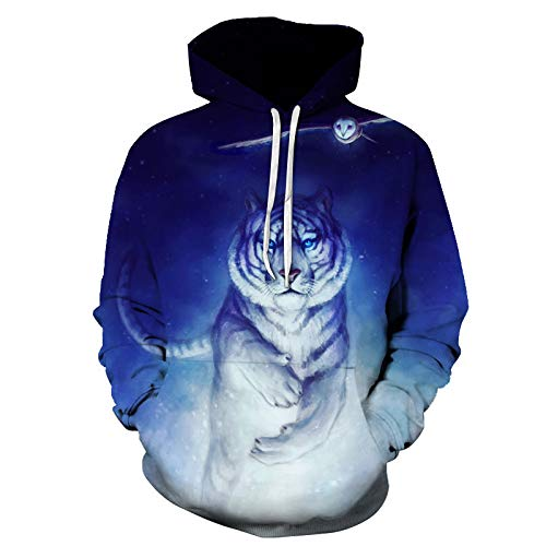 NHDYYWDX Unisexe Xmas Jumpers 3D Graphic Pull Ugly Christmas Long Sleeve T Shirts Crewneck Funny Sweatshirts