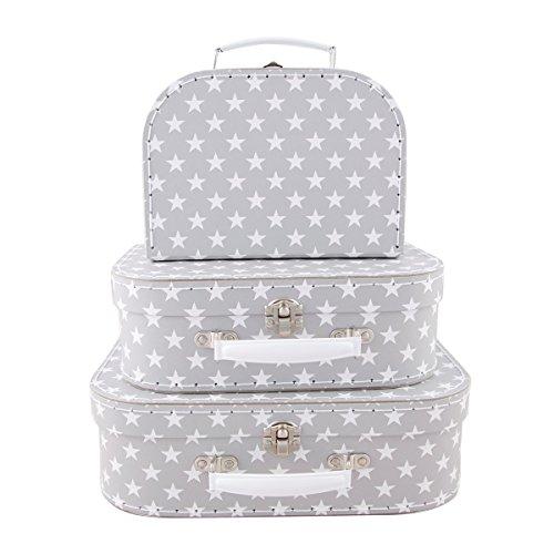 Sass & Belle Nordic Star Suitcases (Set of 3) [Importación inglesa]