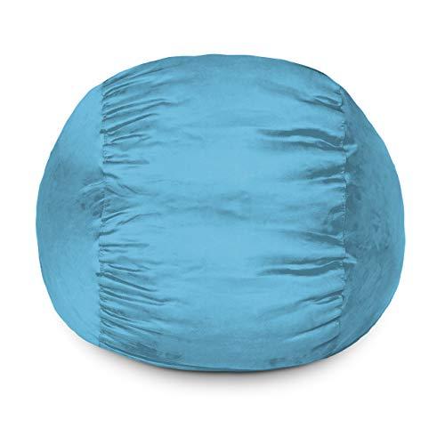 Lumaland Luxury Sitzsack mit Microsuede Bezug 100% Polyester Sample 3