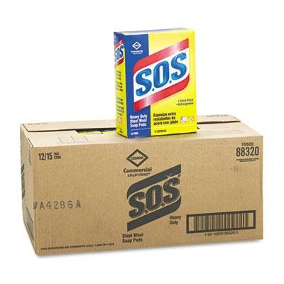 S.O.S. - Steel Wool Soap Pad 15 ...