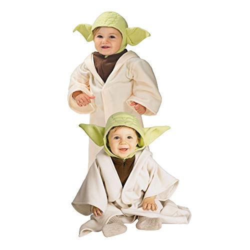 Rubie's Official Disney Star Wars Baby Yoda Costume, Child's Costume Toddler Size
