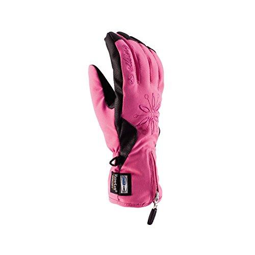 Viking colette respirant et chaud de ski pour femme avec gants de ski Small Rose - rose