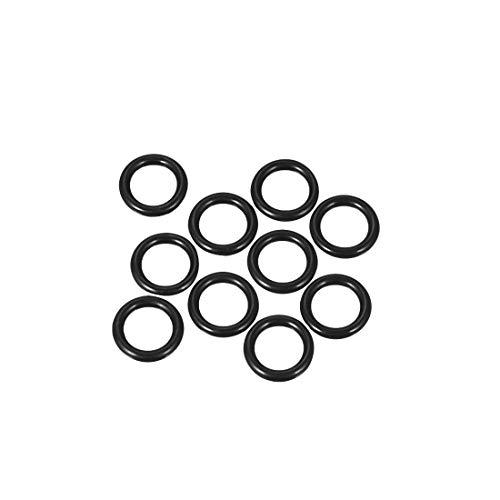 sourcing map 10pcs O-Ringe Nitrilkautschuk Gummi 8mm x 13mm x 2,5mm Dichtungsringe Dichtung DE de