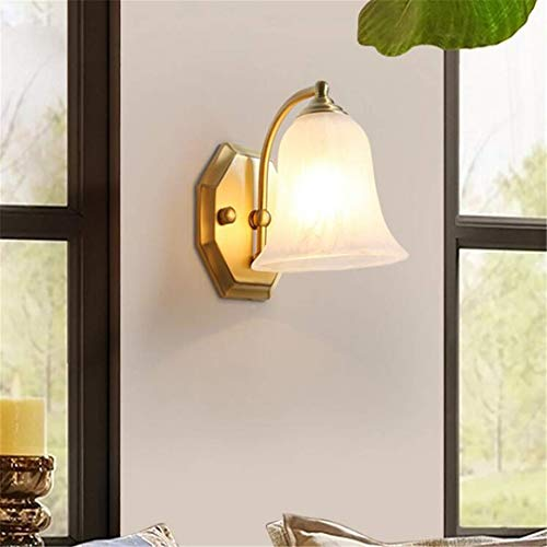L-C Plafond Licht Alle Koper Amerikaanse Spiegel Koplamp Badkamer Lamp Badkamer Lamp Wandlamp Corridor Lamp Aisle Verlichting Glas Lampenkap