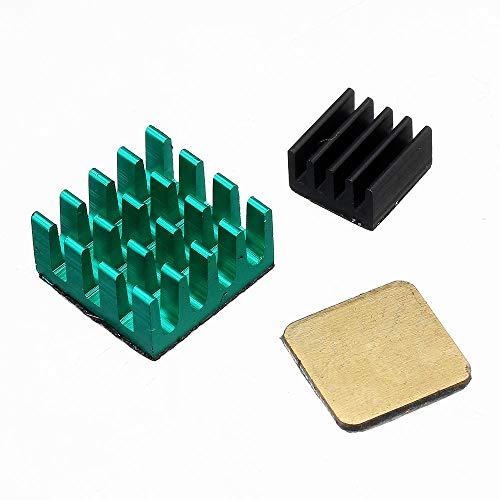 RLJJCS1163 Kit de disipador de Calor de Aluminio 3PCS con copor for el Modelado BPI 2 B