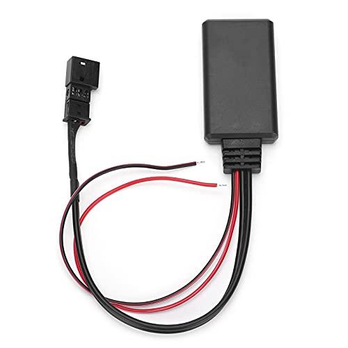 Akozon 3Pin AUX Puerto Módulo Bluetooth Adaptador de cable AUX-IN Entrada auxiliar Ajuste para E46 / E39 / E53 / X5 Adaptador de cable de entrada auxiliar Bluetooth