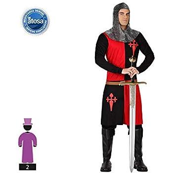 Atosa-57562 Atosa-57562-Disfraz Caballero Cruzadas-Adulto M a L ...