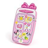Clementoni Disney Baby Minnie Smartphone, Telefono Baby Elettronico Parlante, Versione in Italiano, 9 mesi+, 14950