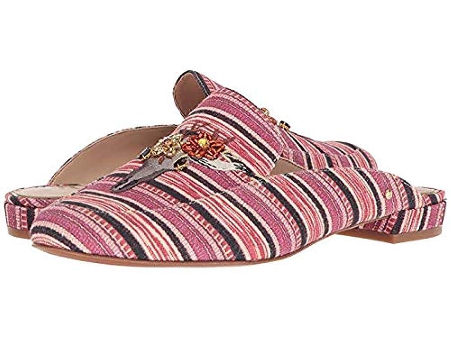 平等突然ベル[Sam Edelman(サムエデルマン)] レディースローファー?靴 Jillian 3 Mulberry Multi Mayan Stripe Print Fabric (25cm) M [並行輸入品]