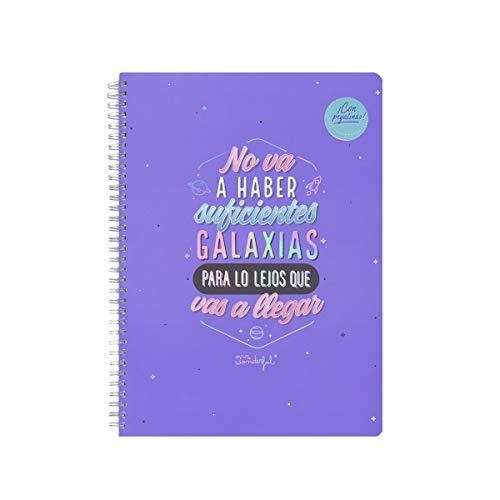 Libreta A4 - No va a haber suficientes galaxias